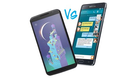Nexus 6 Vs Samsung Galaxy Note 4 Nexus 6 Vs Samsung Galaxy Note 4 What S The Best Android Phablet Tech Advisor