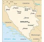 Bosnia Herzegovina Completes Informations Map Booking