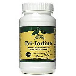 Iodine Detox Headache by Buy Terry Naturally Tri Iodine 90 Capsules Australia