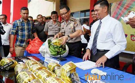 Teh Kemasan 17 kg sabu asal malaysia diselundupkan dalam kemasan teh