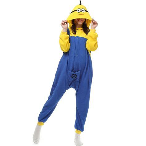 Minions Piyama buy despicable minions pajamas fleece onesie