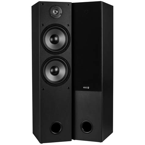 Speaker Tower dayton audio t652 dual 6 1 2 quot 2 way tower speaker pair