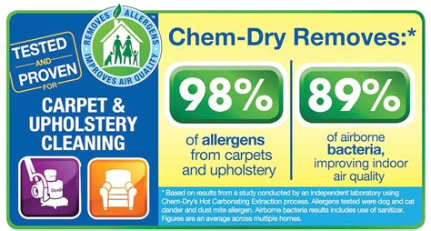 chem dry upholstery cleaning reviews chem dry allergen removal study great american chem dry