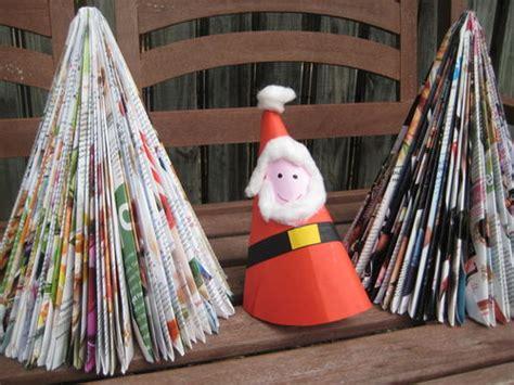 arboles de navidad hechos con revistas 193 rbol de navidad barato barato 187 no puedo creer