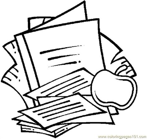 free coloring pages school supplies school supplies 09 coloring page free school coloring