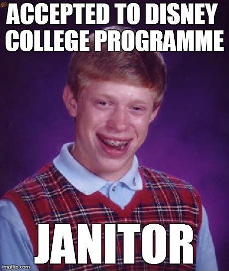 Janitor Meme - bad luck brian meme imgflip