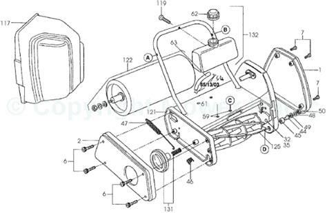 qualcast classic 35s parts diagram qualcast classic petrol 35s spares
