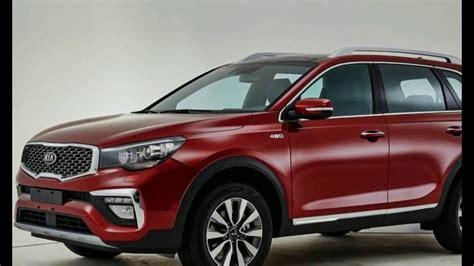 kia sorento 2018 interior kia sorento facelift 2018 interior and exterior