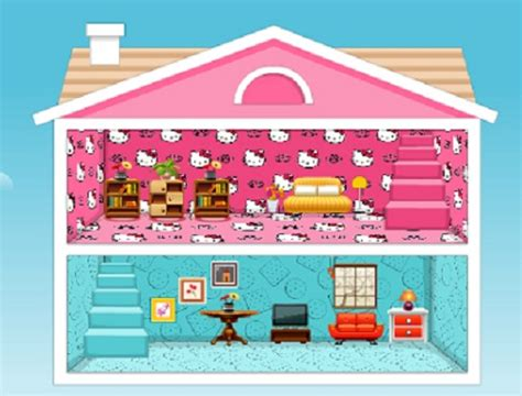 barbie girl doll house games play doll house decorating games milmaload