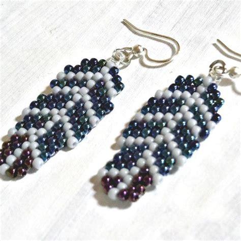 Bead Earring Designs Handmade - best 25 seed bead patterns ideas on beading