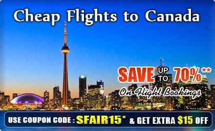 flights to canada get cheap flights to canada airfare deals with smartfares