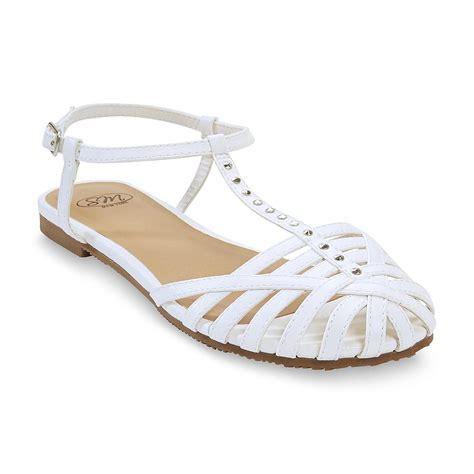 white closed toe sandals sm new york s sloane white closed toe gladiator