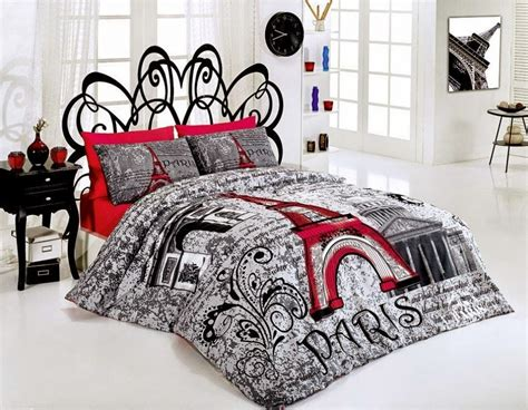 paris themed comforter sets bedroom decor ideas and designs top ten paris themed