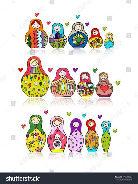 Matryoshka Collection Set collection russian nesting dolls matryoshka your stock