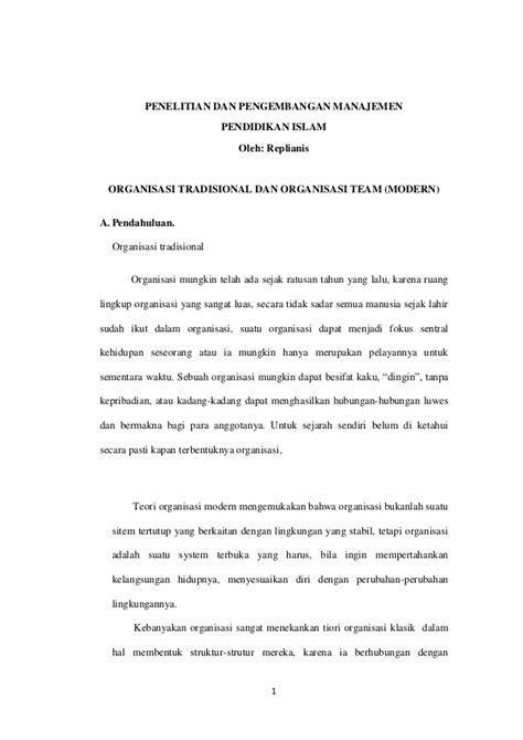Organisasi Dan Kepemimpinan Modern Graha Ilmu 1 organisasi tradisional dan organisasi modern