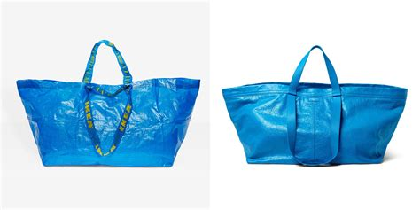 ikea frakta bags a cheap chic black bag to rival ikea s and balenciaga s