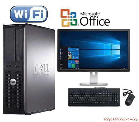 Komputer Dell Core2duo fast dell desktop computer pc 2 duo 2 4ghz 4gb ram