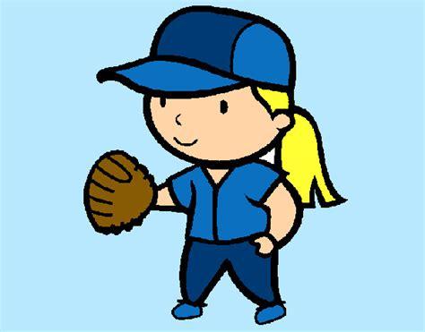 dibujos de niños jugando golf ni 241 os jugando beisbol dibujo imagui