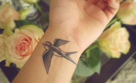 small swallow tattoo 50 suitable tattoos for wrist