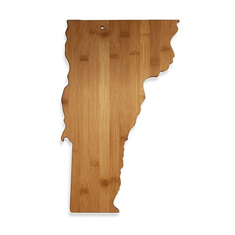vermont bed board buy totally bamboo vermont state shaped cutting serving