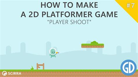 construct 2 free tutorial 7 how to make a 2d platformer game player shoot