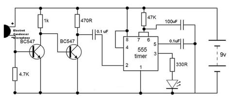 clap to turn off lights how to make simple clap switch circuit working