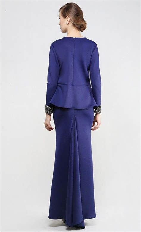 Set Kebaya Alisa Blue 1000 ideas about baju kurung on kebaya and peplum