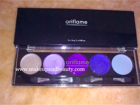 Eyeshadow Oriflame oriflame colour eye shadow palette blues and lilacs review