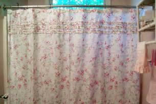 Cottage Shower Curtains Seaside Creations Cottage Powder Room