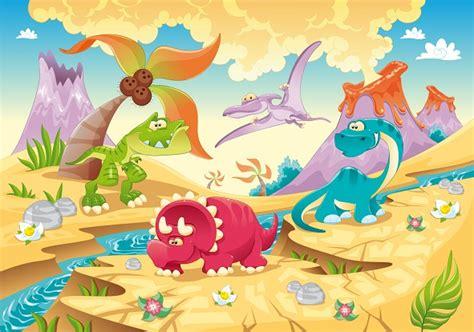 childrens wallpapers cartoon dinosaur wall murals