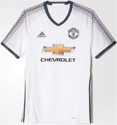 Kaos Uefa Football Unite adidas lan 231 a o terceiro uniforme do manchester united