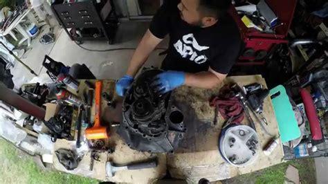 As Roda Honda B Series Manual timelapse of a honda d series transmission tear and