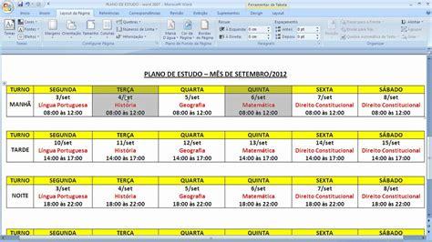 William Douglas Calendario De Estudos Aprenda A Fazer Um 211 Timo Planejamento De Estudos