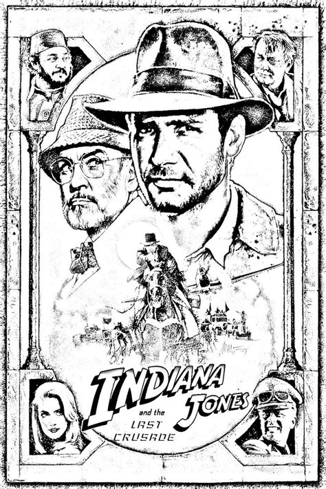12 curated coloring pages classic movie posters ideas by