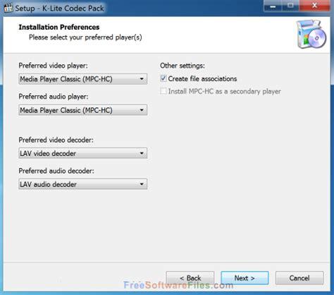 format audio codec k lite codec pack full 13 4 0 free download
