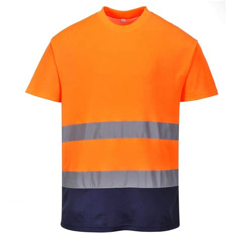 clothing comfort portwest 2 tone cotton comfort t shirt clothing from m i