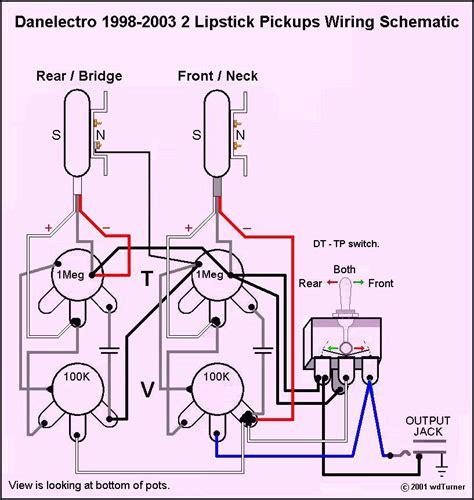 danelectro wiring diagram get free image about wiring