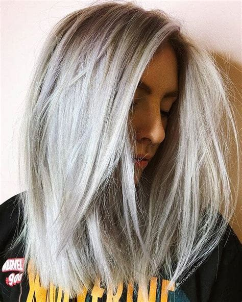 platinum hair color 50 platinum hairstyle ideas for a glamorous 2019