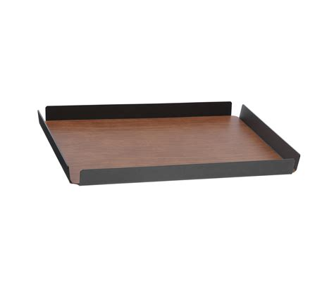 Tray L tray square l anthracite trays from linddna architonic