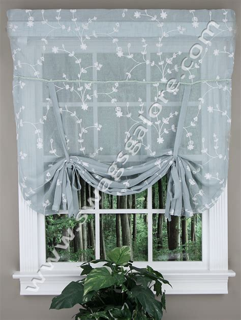 Tie Up Valance Kitchen Curtains Tie Up Valance Taupe United Curtain Kitchen Valances
