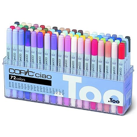 color pen set ciao 72 colour pen set b craftyarts co uk
