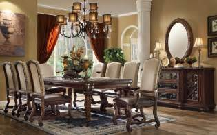 formal dining room set ashley formal dining room table set