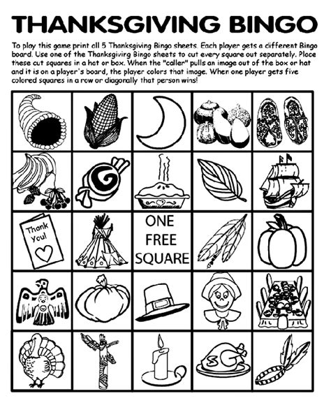 printable thanksgiving bingo cards free thanksgiving bingo board no 3 coloring page crayola com