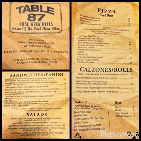table 87 frozen pizza table 87 coal oven pizza 133 photos 205 reviews