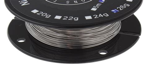 Nichrome Wire Ni80 26 Awg By Youde Ud 2 02 thunderhead creations nichrome ni80 heating wire for rba atomizer 26 awg 0 4mm dia