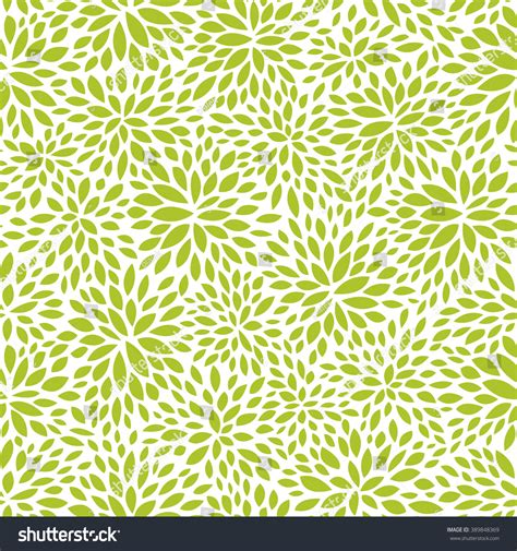 seamless leaf pattern vector seamless abstract green leaf pattern foliage stock vector