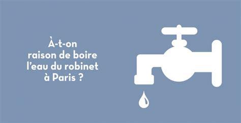 la qualit 233 de l eau du robinet de par rapport aux