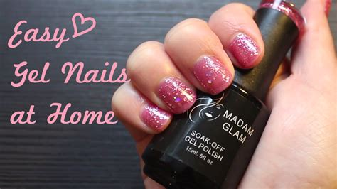 gel nails at home easy madam glam review dancer