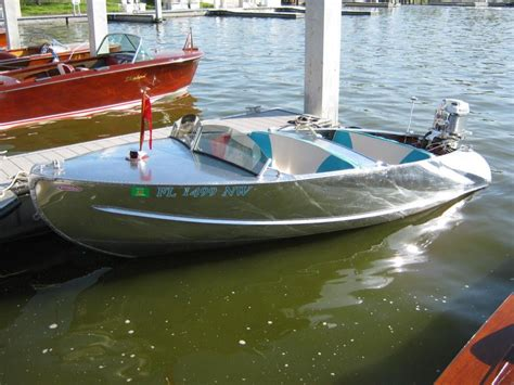 runabout boats with outboard motors 1955 feather craft 15 vagabond complete with 50 hp
