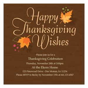 Happy Thanksgiving Email Templates by Autumn Leaves Thanksgiving Invitations Cards On Pingg